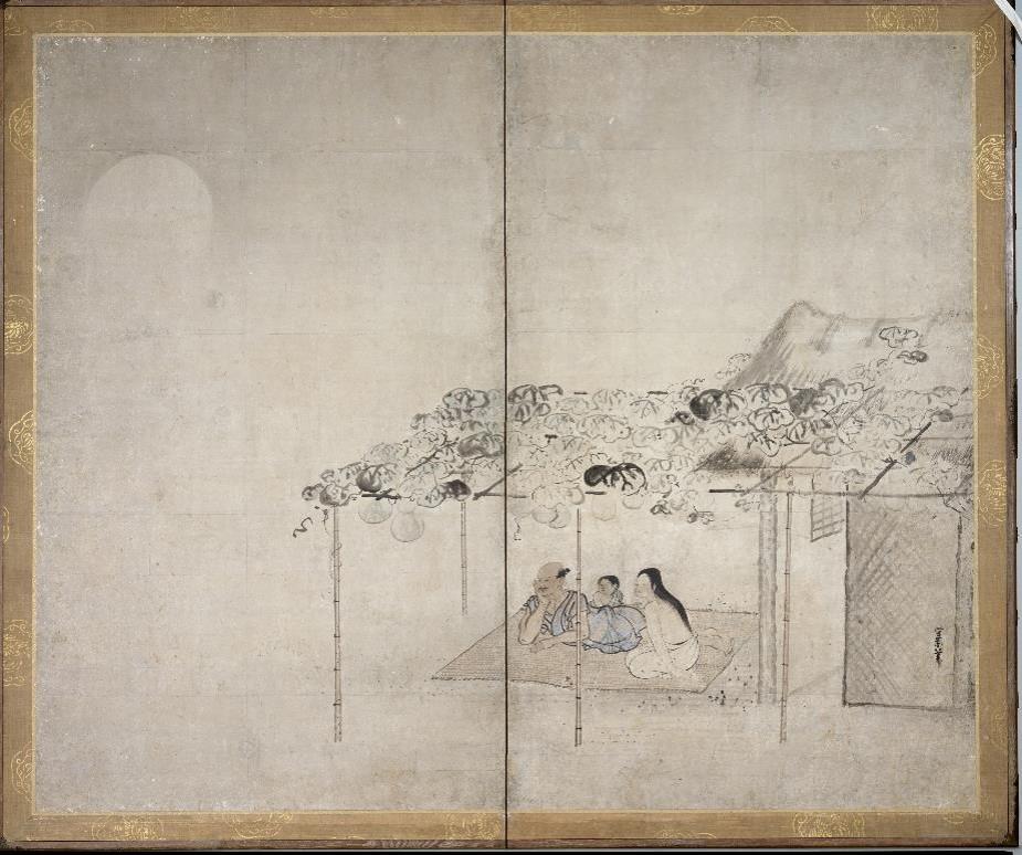 Шедевры живописи и гравюры эпохи Эдо смотреть фото