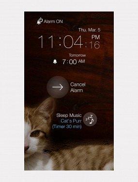 Приложение Cat Alarm Clock
