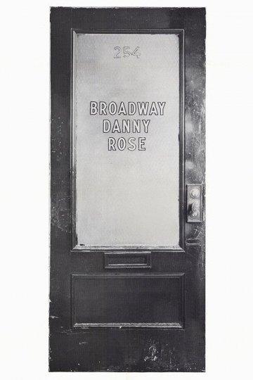 Постер Бродвейский Дэнни Роуз