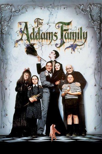 Постер Семейка Аддамс