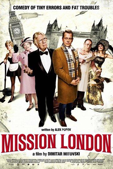Постер Миссия Лондон
