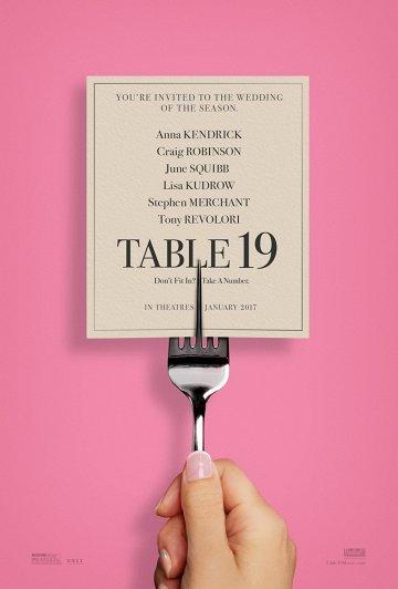 Постер Столик №19