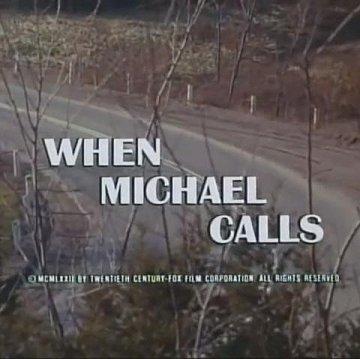 Постер Когда звонит Майкл