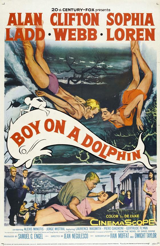 Мальчик на дельфине (Boy on a Dolphin)
