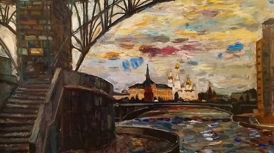 Мария Смахтина. Радуга над Москвой