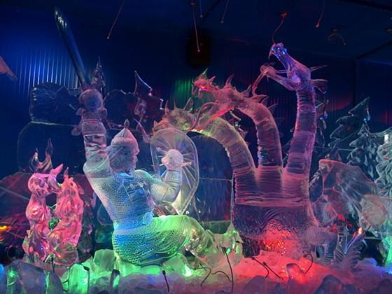 Галерея русской ледовой скульптуры