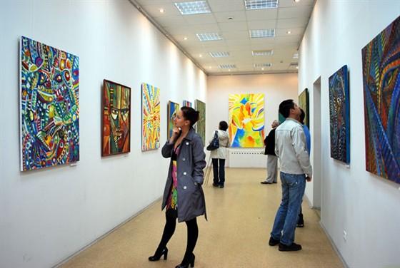 Малый зал Союза Художников