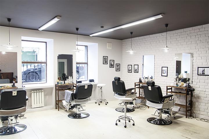 Интерьер парикмахерской Chop-Chop