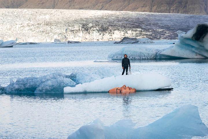 Портрет на айсберге