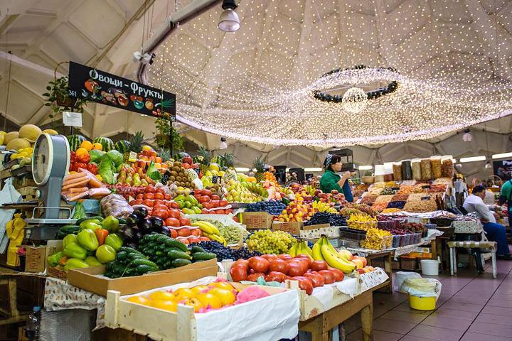 У Даниловского рынка есть и доставка – каждый день развозят около 80 заказов