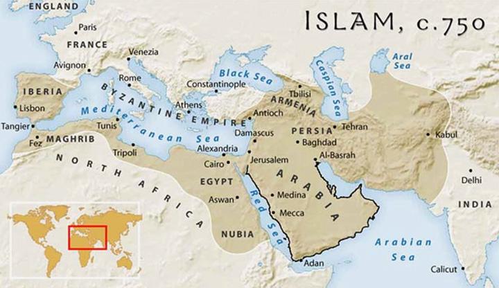 Ислам и пустыня