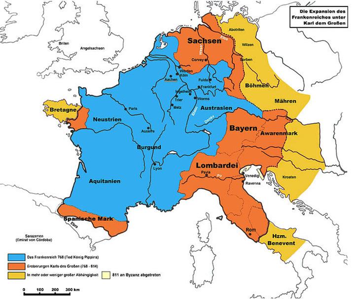 Европа Карла Великого