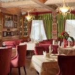 Ресторан Русский дворик - фотография 6 - Малый каминный зал