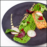 Ресторан Де Марко - фотография 5 - Тар-тар из лосося