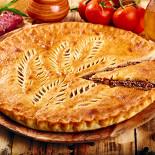 Ресторан Осетинские пироги №1 - фотография 1 - Осетинский пирог с мясом