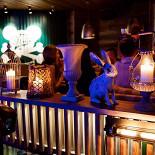 Ресторан Дикий - фотография 1 - Вечерняя атмосфера