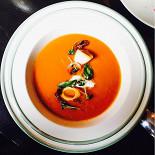 Ресторан Где-то - фотография 4 - томатный суп
