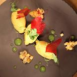 Ресторан День - фотография 2 - Паштет из кролика с крошевом из груши и гелем из яблок