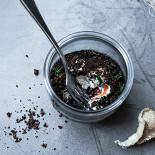 Ресторан Björn - фотография 3 - Гравлакс из лосося со сливочным муссом их хрена