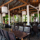 Ресторан Мельница - фотография 5 - Зал Бунгало