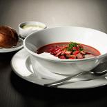 Ресторан Клюква - фотография 4 - Борщ