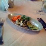 Ресторан Океан - фотография 4 - «Океан»: Яйца фаршированные креветками