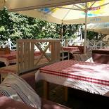Ресторан Гранат - фотография 1 - летняя терраса Гранат. Тихое и приятное место теплым летним днем
