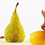 Ресторан Cipollino - фотография 2 - Нежная груша с горячим шоколадом внутри  в ореоле фисташковой крошки