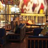 Ресторан Восток Story - фотография 4 - Второй этаж ресторана. Большой выбор кальянов и танцы живота.