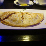 Ресторан Этаж - фотография 1 - не вкусная кесадилья