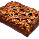 Ресторан Штолле - фотография 5 - Пирог с черной смородиной
