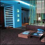 Ресторан ОМ/Чайная студия - фотография 3 - Чайная студия. Бирюзовый зал.