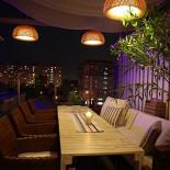 Ресторан Kabuki - фотография 5 - Летняя веранда на крыше ТЦ Атриум с прекрасным видом на Москву