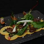 Ресторан Груша - фотография 5 - Карпаччо из хурмы :)