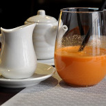 Ресторан Tokyo Table - фотография 6 - Морковный сок со сливками