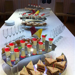 Ресторан Балкан-гриль - фотография 5 - Кофе-брейк на зеркалах