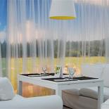 Ресторан Золотой барашек - фотография 3 - С нашей веранды видно поле и лес.