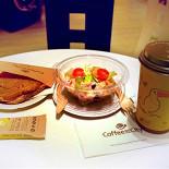 Ресторан Coffee and the City - фотография 3 - Обед из меню кофейни