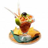 """Ресторан Tequila-Boom - фотография 5 - Легкий коктейль с креветками в соусе """"Канкун"""""""