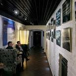 Ресторан Whisky Rooms - фотография 6 - библиотека