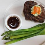 Ресторан Позиция - фотография 3 - Вот такое блюдо заказал мой спутник.