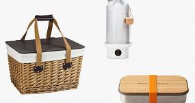 69 предметов для пикника: посуда, грили, чайники, пледы
