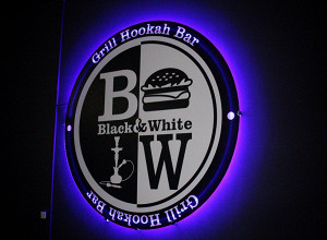 Black & White Grill Hookah Bar