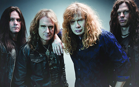 29.07 | Megadeth в Ray Just Arena