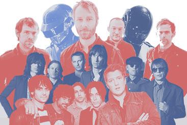 Daft Punk, Джастин Тимберлейк, The National, Primal Scream, Sigur Rós и другие