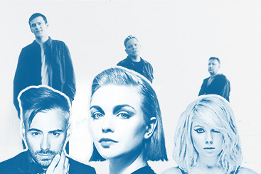Arctic Monkeys, Бейонсе, Джеймс Блейк, Vampire Weekend, Литтл Бутс и другие