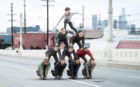 «Somebody New» Joywave и другие необычные видео про скейтборды