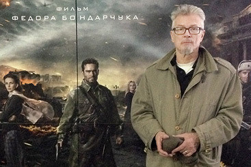 Эдуард Лимонов смотрит новый фильм о великой войне