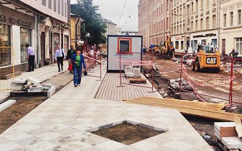 Реконструкция Пятницкой улицы в инстаграмах и хэштегах