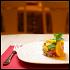 """Ресторан Рецептор - фотография 5 - Салат """"Тунец под кинзой"""" и Лимонад из тархуна."""